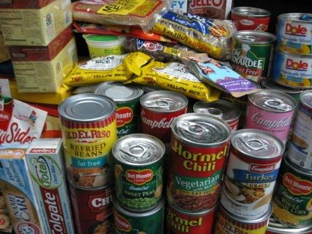 Canned food linings contain bisphenol A, a toxic chemical.
