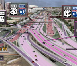 Graphic of the North Houston Highway Improvement Project